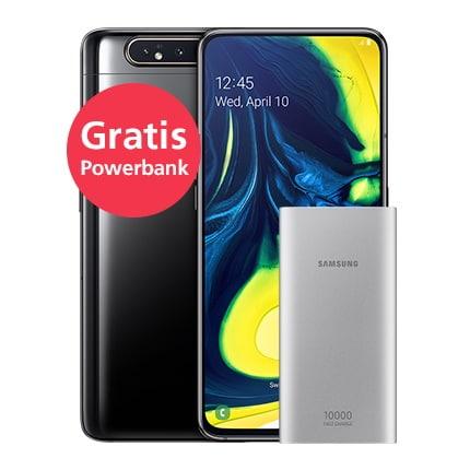 Samsung Galaxy A80 + o2 Free M für eff. 8,28 € mtl