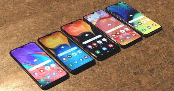 Samsung Galaxy A 2019 Vergleich Thumbnail