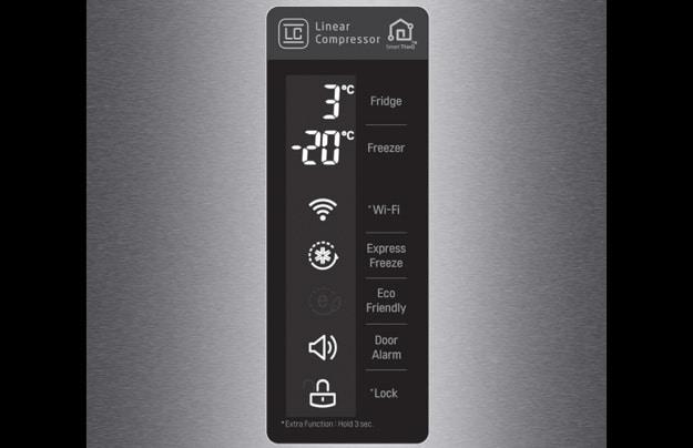 LG GBB 60 DSMFS Kühlgefrierkombination