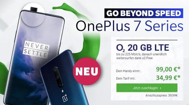 OnePlus 7 Pro + o2 Free M Boost bei DeinHandy