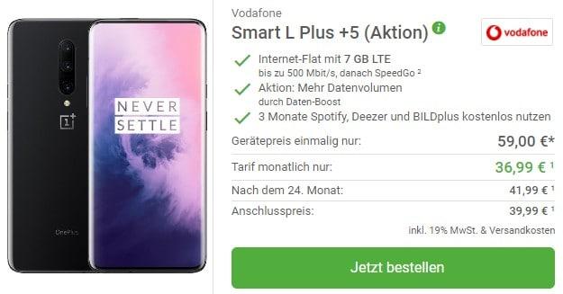 OnePlus 7 Pro + Vodafone Smart L Plus bei DeinHandy