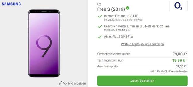 Samsung Galaxy S9 Plus + o2 Free S