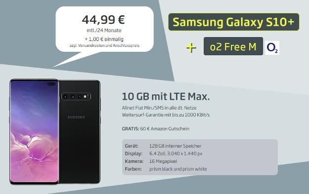 samsung galaxy s10 plus + o2 free m