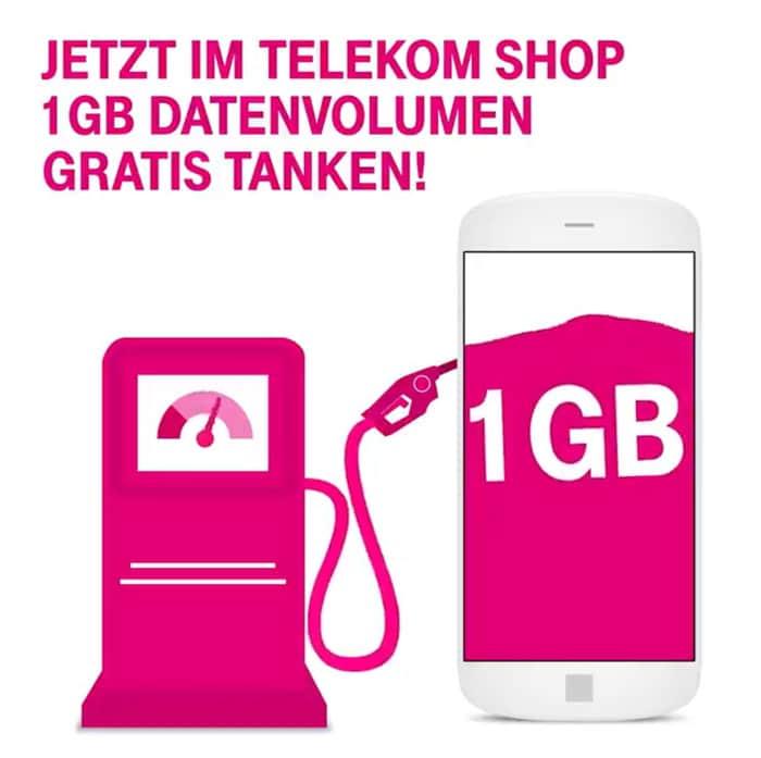 Telekom MagentaMobil Datentanke