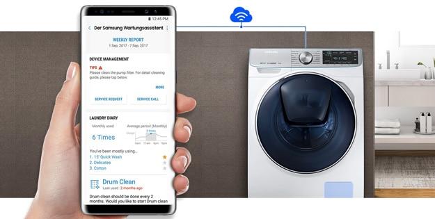 Waschmaschinen, Kühlschränke & Co bei MediaMarkt: Mehr als nur Haushaltsgeräte - Tipps & Bedienung per Smartphone-App möglich!