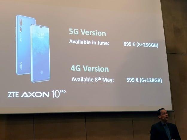 ZTE Axon 10 Pro HandsOn