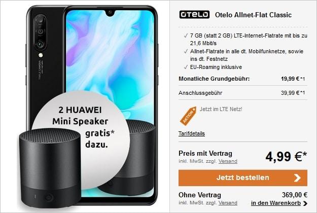 Huawei P30 lite + otelo Allnet-Flat Classic LTE