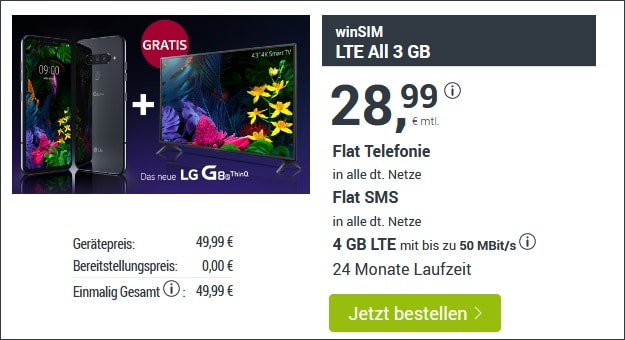 LG G8s ThinQ + winSIM LTE All
