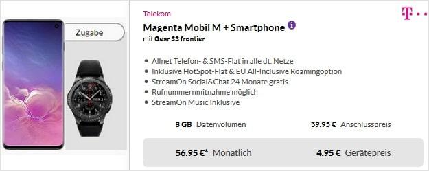 Samsung Galaxy S10 Telekom Magenta Mobil M
