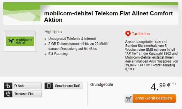 allnet flat 2 gb telekom netz