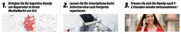 MediaMarkt Handy-Reparatur Service: Smartphones, Handys und Tablets direkt im Markt reparieren lassen
