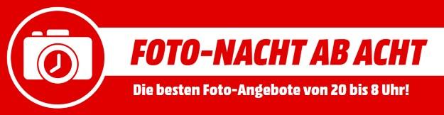 MediaMarkt Foto-Nacht ab Acht - Tolle Schnäppchen aus der Welt der Fotografie