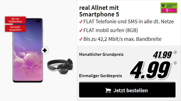 s10 plus + akg + real allnet md telekom
