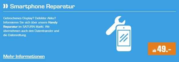 Saturn Handy-Reparatur: Lass Dein Smartphone oder Tablet direkt im Markt reparieren - das sind die Preise!