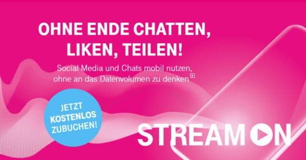 Telekom StreamOn Social & Chat Thumbnail