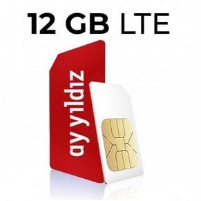 Ay Yildiz Ay Allnet Plus Aktionstarif 12GB LTE Logo