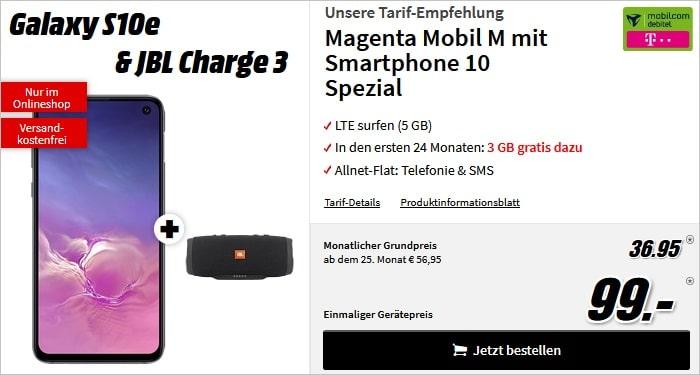 Samsung Galaxy S10e + md Magenta Mobil M
