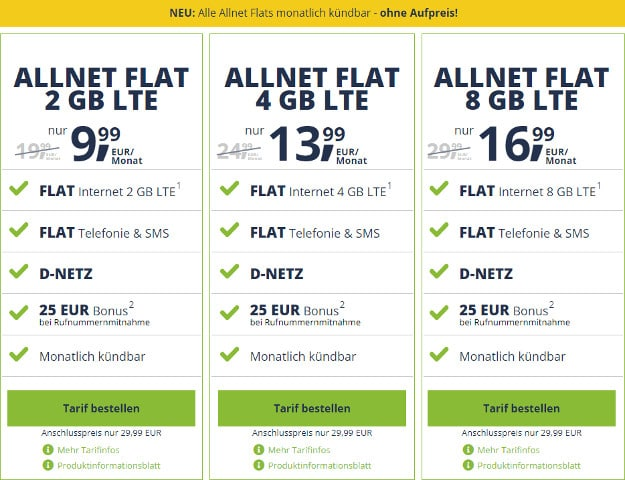 freenet mobile free flat