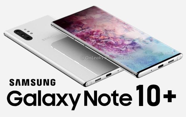 Samsung Galaxy Note 10 Plus mit Vertrag
