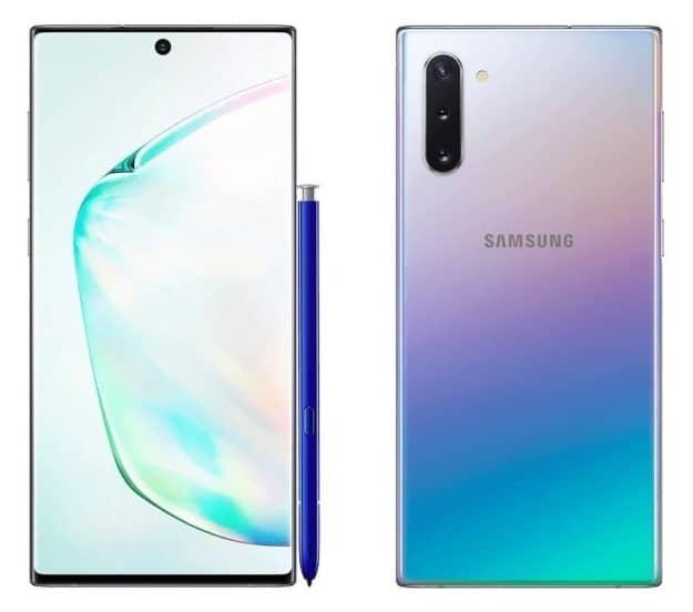 Samsung Galaxy Note 10 mit Vertrag, Datenblatt, Test, Preis