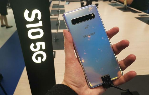 Samsung Galaxy S10 5G - eines der ersten verfügbaren 5G-Smartphones