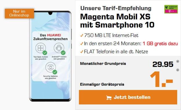 huawei p30 pro + md magenta mobil xs