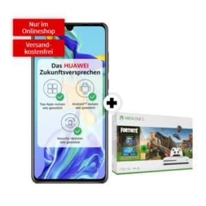 Huawei P30 mit XboX One S Fortnite-Bundle