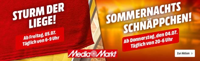 MediaMarkt Playa del Spar: Täglich wechselnde Schnäppchen in allen Bereichen bis zum 13.07.2019