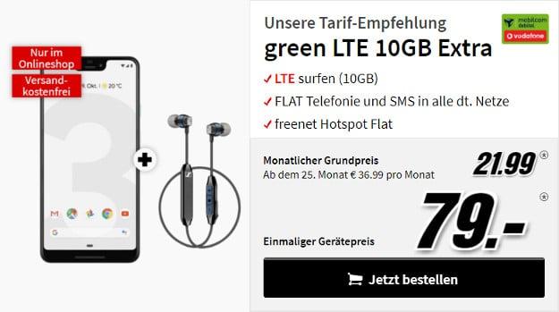 pixel 3 xl green lte 10 gb