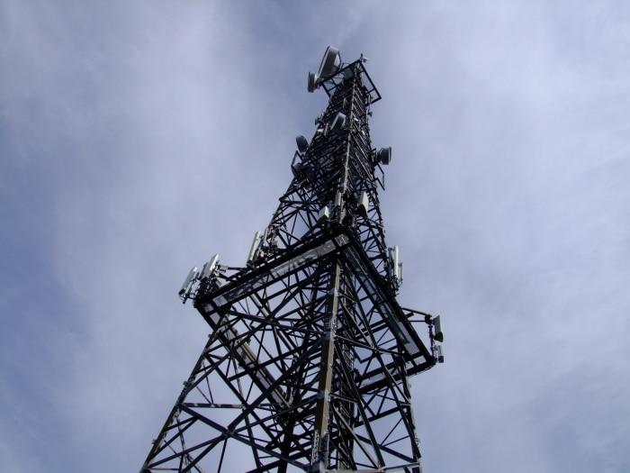 Der erste 5G-Mast in Berlin