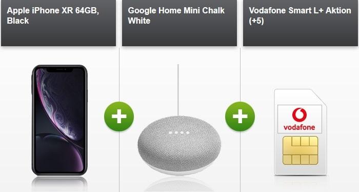 Vodafone Iphone XR Bundle-Deal