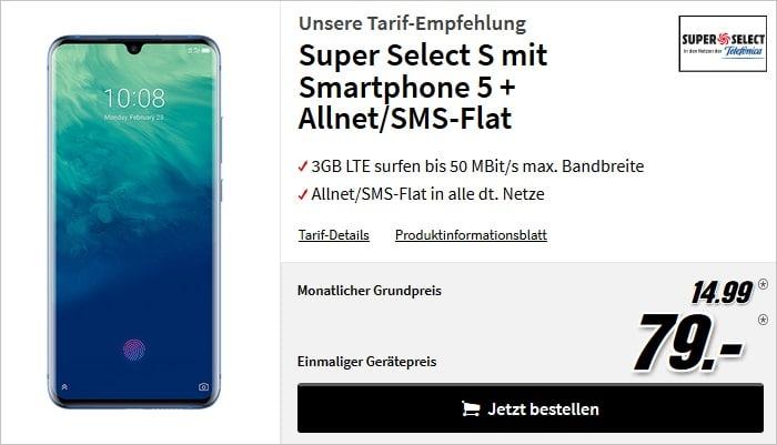 ZTE Axon 10 Pro + Super Select S