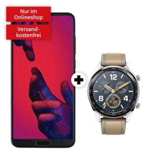 Huawei P20 Pro mit Smartwatch Watch GT