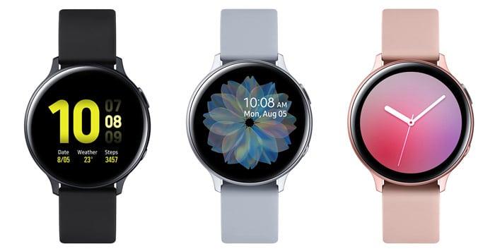 Samsung Galaxy Watch Active 2 mit Vertrag & Test: Smartwatch mit LTE & Metallgehäuse für Sport-Fans - in zwei Größen!