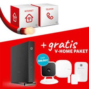 Vodafone Red Internet & Phone Cable mit gratis V-Home-Paket: Für wen lohnt sich das Angebot?