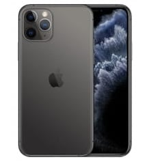 Apple iPhone 11 Pro schwarz Logo