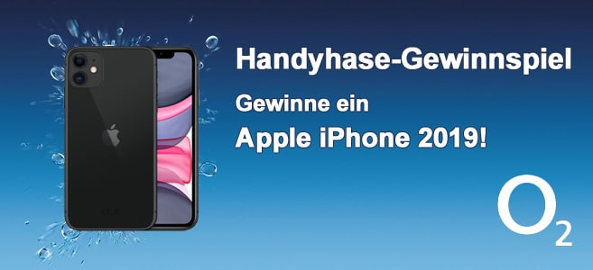 Wahnsinns Handyhase-Gewinnspiel: Gewinne ein brandneues Apple iPhone 11 im Wert von 799 €!