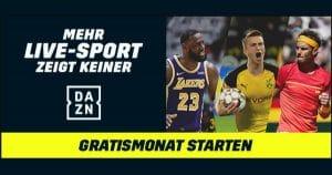 DAZN Gratis-Monat Thumbnail