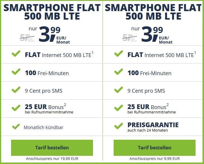 freenet Mobile Smartphone Flat LTE (Telekom-Netz)