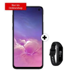 Samsung Galaxy S10e + Samsung Galaxy Fit e