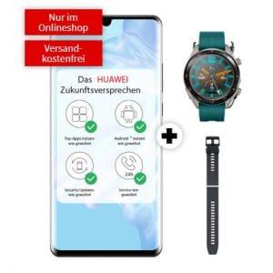 Huawei P30 Pro + Huawei Watch GT Active + Armband