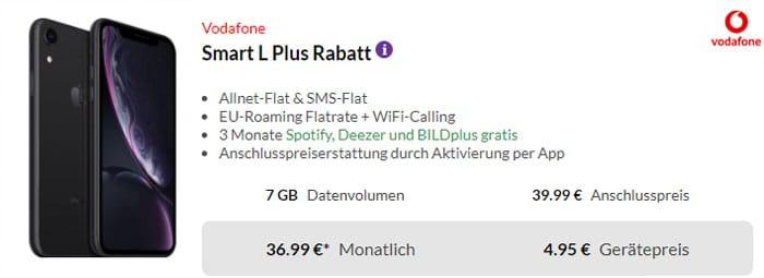iPhone Xr mit Vertrag Vodafone Smart L Plus
