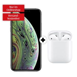 iPhone Xs + AirPods 2