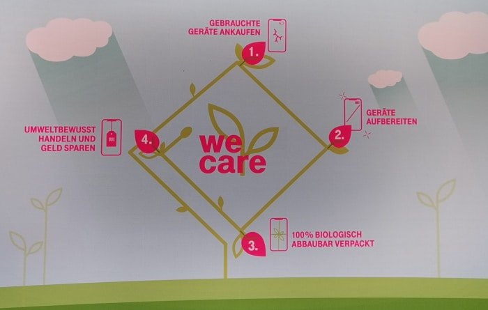 Telekom We Care Recycling