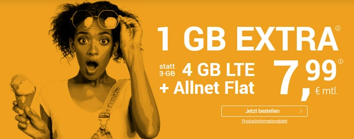 winsim allnetflat 4 gb lte aktion