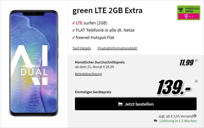 Huawei Mate 20 Pro green LTE 2 GB Telekom MediaMarkt