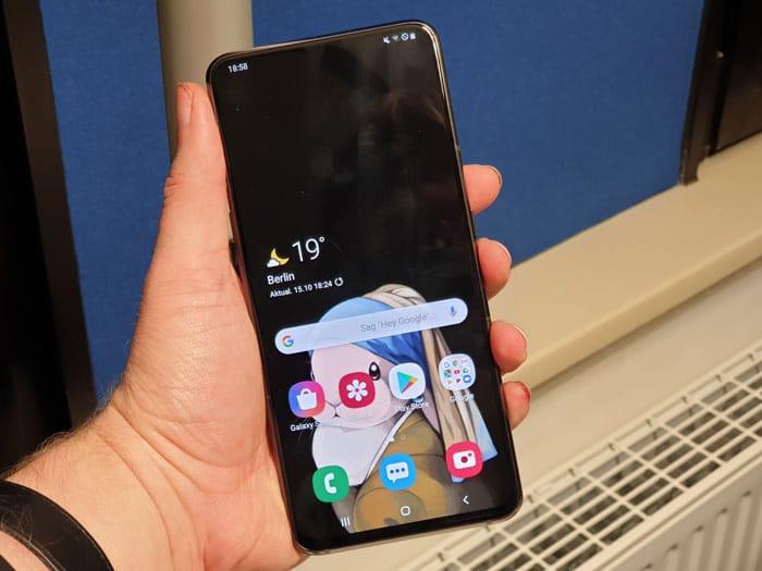 Samsung Galaxy A80 Test