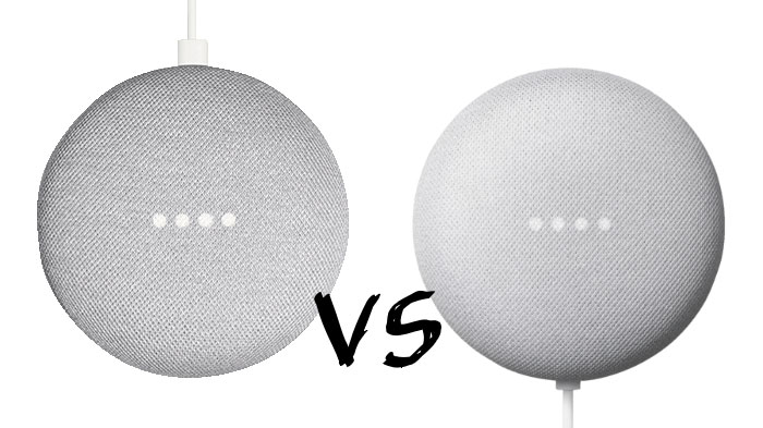 Google Nest Mini vs. Google Home Mini