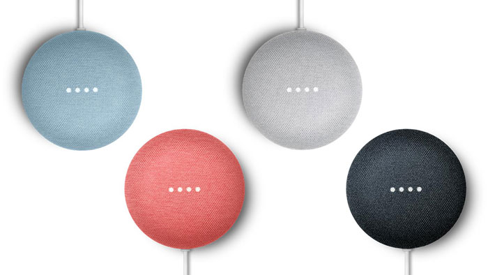 Google Nest Mini versus Google Home Mini