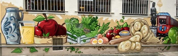 iPhone 11 Pro Sample Mural Graffiti